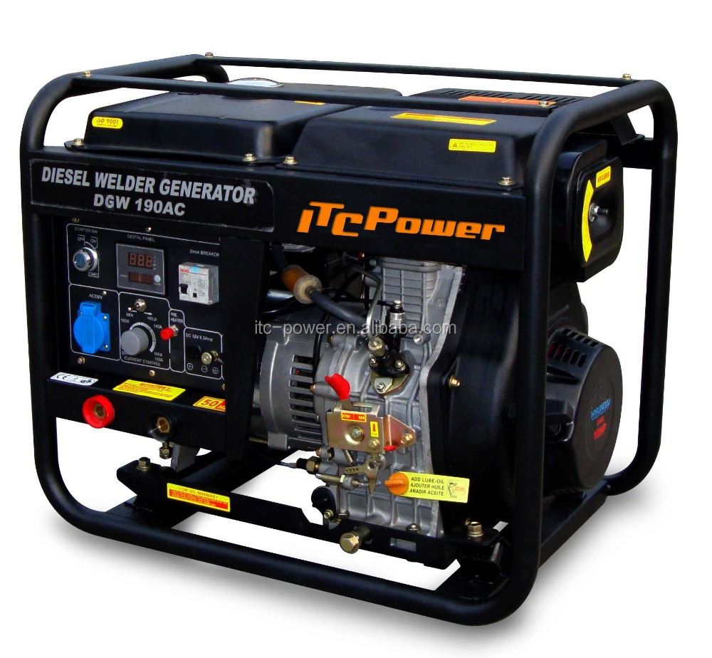 2Kw/2.2kva fast delivery China manufacture portable diesel welding generator price