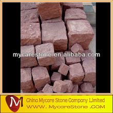 red stone brick pavers