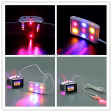 red blue yellow 3 colors light laser watch LLLT low level laser therapy device for hypertension