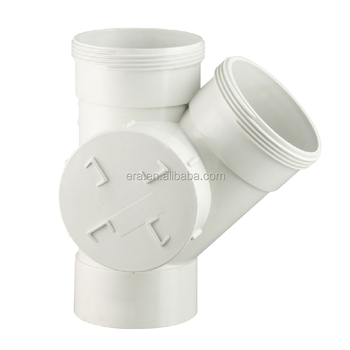 ERA PVC AS/NZS1260 Drainage Fittings 45 Degree Tee Side Access Junction Right F/F