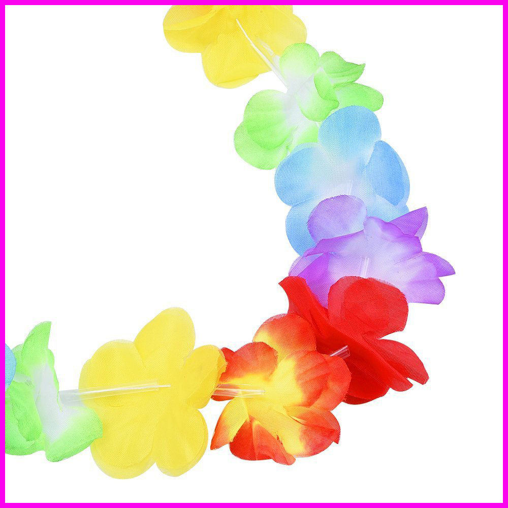 Hawaiian Luau Hibiscus Birthday Party Decorations Supplies Luau Garland Hawaiian Tropical Flower Lei Party Favors