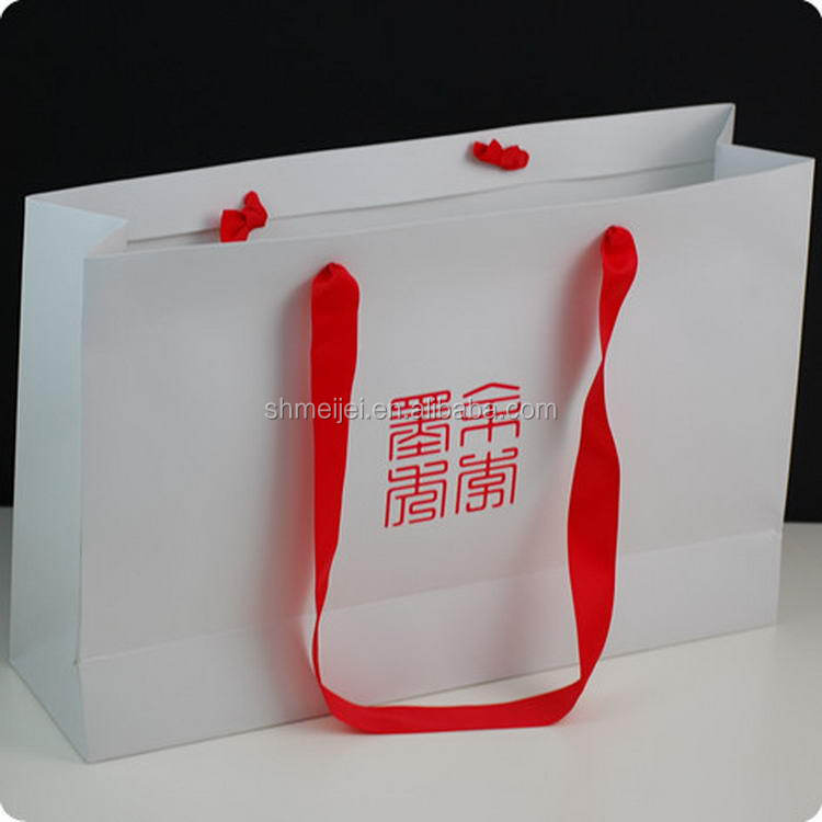 Cheaper trade assurance happiness design paper shopping bag