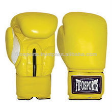 PROFESSIONAL LEATHER PU BOXING GLOVES