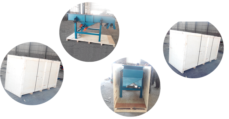 mini linear vibrating screen for rice grain granule powder