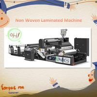 ONL-M Manual Non Woven Fabric Laminating Machine