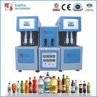 YAOVA 2000ml plastic moulding machine price for miner water bottl