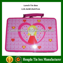 New design rectangular tin lunch box