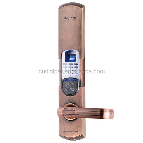 6600-92 keyless intelligent fingerprint lock with cylinder