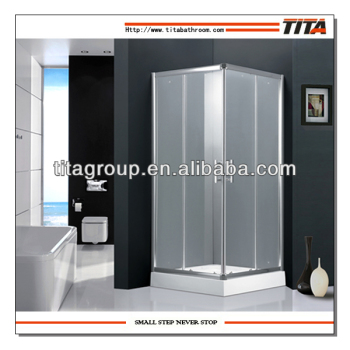 Economic Square walk in shower enclosure