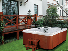 JY8002 massage bathtub outdoor whirlpool bathtub hot tub sex