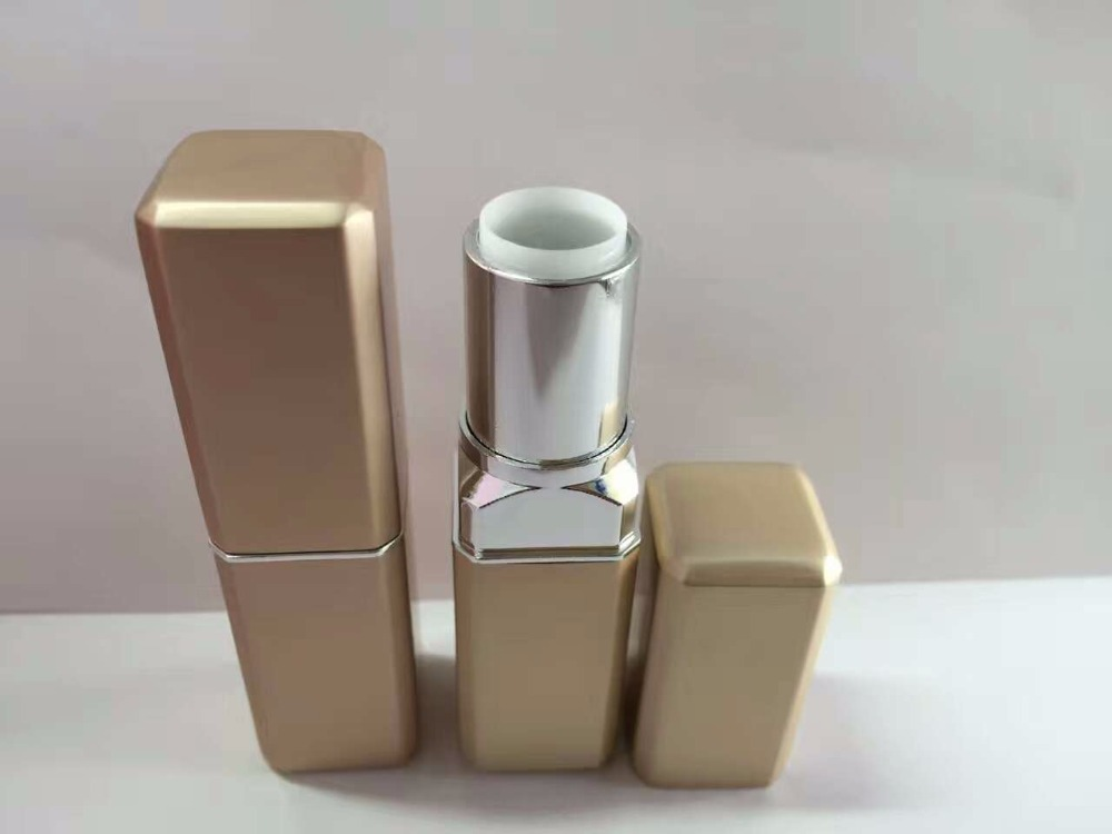 Hot sale square metal lip balm container
