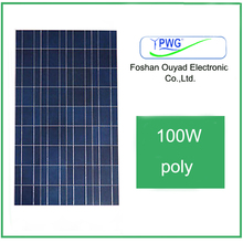 100W lower price for solar panel for Big Projects and Power Plant