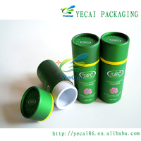 Custom Recycled Cardboard Tube Packaging Essential Oil Box