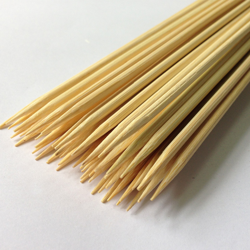 100 bags / carton 40cm bamboo skewers for smores