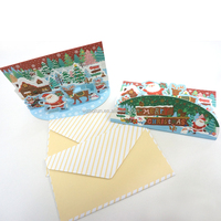 handwork paper laser cut 3d greeting card making machine wholesale