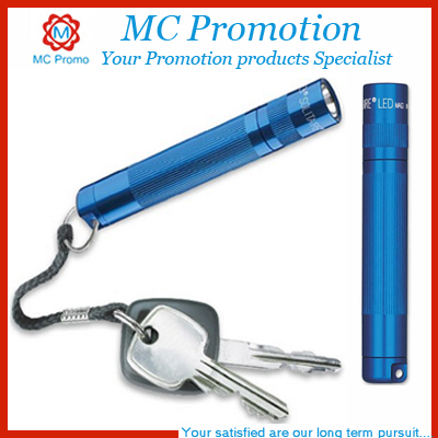 Promotional custom led keychain flashlight torch