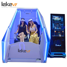 Easy Vr 2 Seats Virtual Reality <strong>Equipment</strong> 9D Vr De Simulador Game Machine For Vr Park