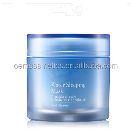 OEM/ODM Sleeping Overnight Facial Mask 70ml (sleeping pack, whitening, hydrating, skin protective layer)