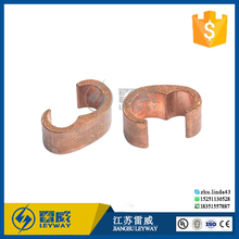 Copper C crimp connector/ C cable clamp