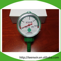 Teenwin smart/durable biogas pressure gauge with cheap price