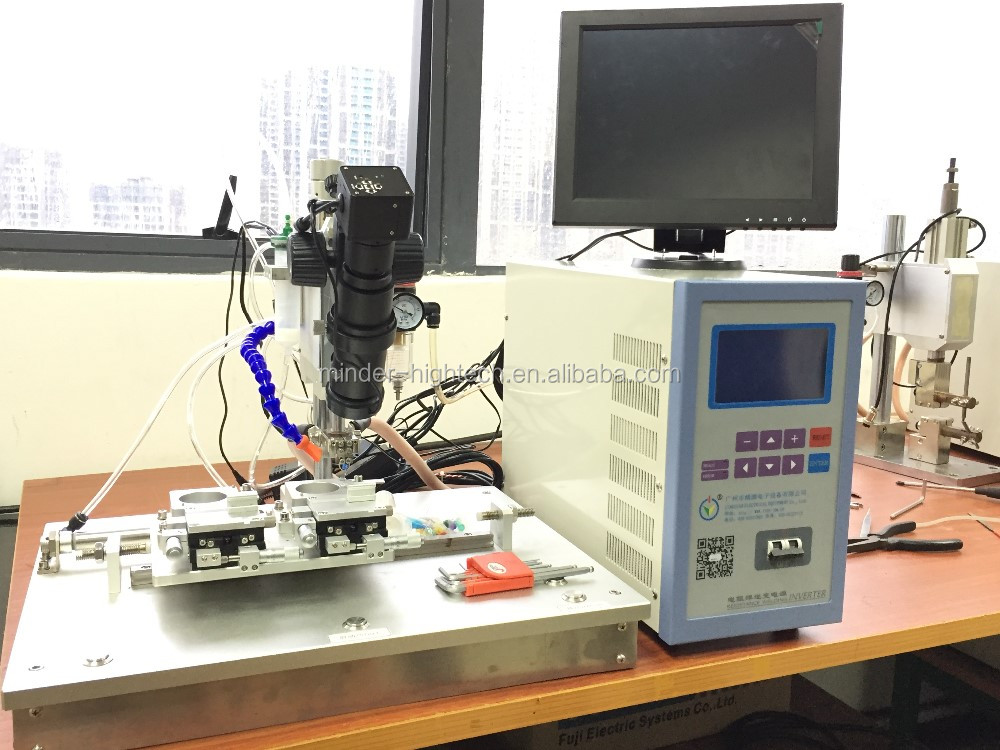 hot bar soldering machine with flux dispensing system