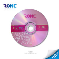 Chinese CD blank dvd disc prices made in china