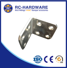 Alibaba different sizes L joint connector metal bracket corner for furniture