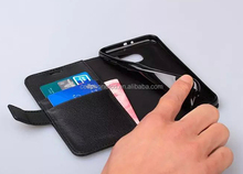 Mobile Phone Case for Samsung Galaxy S6 Wallet Leather Case with Card Slot
