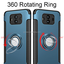 Multi-function 360 rotating ring holder standing pc silicone mobile phone cover case for Huawei Mate 10 Mate10 Pro