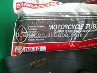 Japan Design BUTYL rubber inner tyre tubes and MOTORCYCLE inner tube BARRACUDA CAMERA