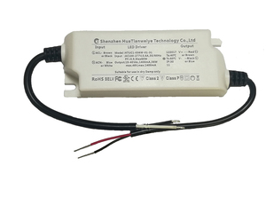 HTUC2-40W-03 , 50W LED 0-10V dimming constant current driver , isolated 960ma AC-DC led switch power supply,3 years UL cUL list