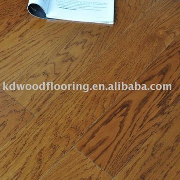 PPG UV Coating white oak wood flooring 2.0mm