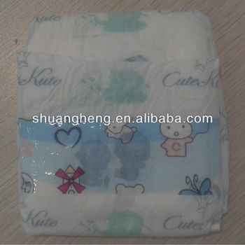 Super Soft Perforated Sleepy Baby Diaper
