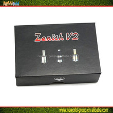 2015 amazing Appearance manufacture price zenith v2 rda clone plume dual coil vaporizer pen
