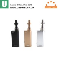 Aspire authentic ecig aspire odyssey mini starter kit with the triton mini Coils and TC BOX MOD