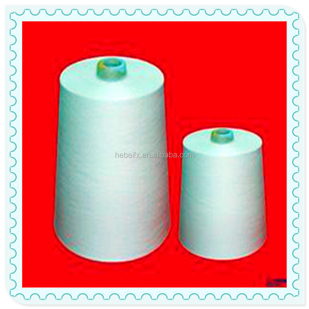 Best Ring Spun Polyster Yarn Manufacturers Covered Spandex 100% Polyester Spun Yarn
