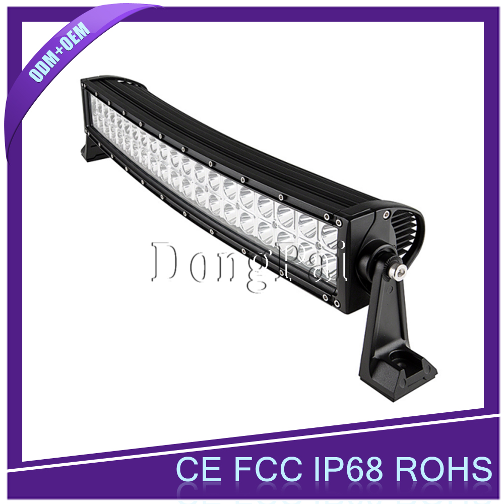 120W car offroad led light bar, auto led driving light bar for 4X4 track, wrangler vehicle
