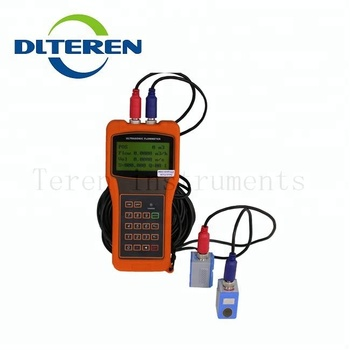 High accuracy Transit time ultrasonic flowmeter portable ultrasonic flowmeter DTI-200H