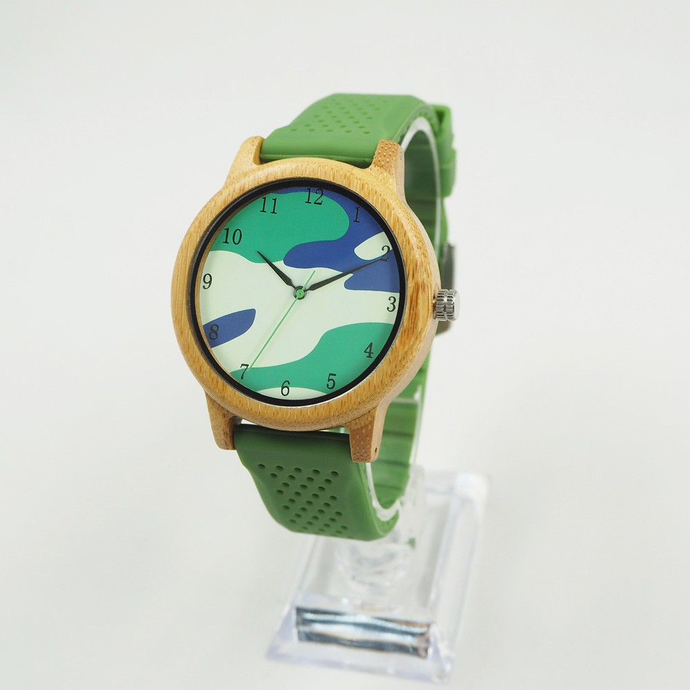 China Supplier Wood Watches and Clock Factory OEM Custom Logo Wristwatch with gift box
