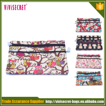 New Cover Floral Change Card Coin Bag Women Purse Ladies