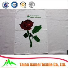 home textile 100% cotton silk screen printed kitchen towel /tea towel