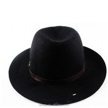 fedora hat wide brim hat men felt hillbilly hat wholesale
