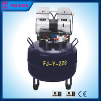Best Sale!! dental supply silent oil free air compressor FJ-Y-228 (CE approved!!!) dentist air compressor india