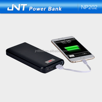 20000 mAh power bank/battery charger/ powerbanks with capacity screen and LED torch for laptop