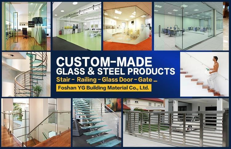 Aluminum Glass Deck Railing Systems Topless Glass Railing Glass ...
