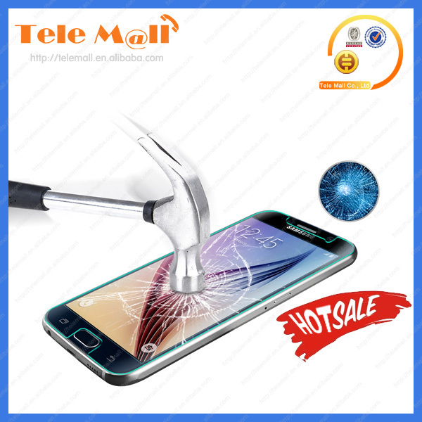cell phone screen protector 0.33mm tempered glass resist blue light for samsung galaxy S6 screen guard