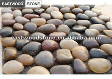 round High Polished shining river stone pebbles
