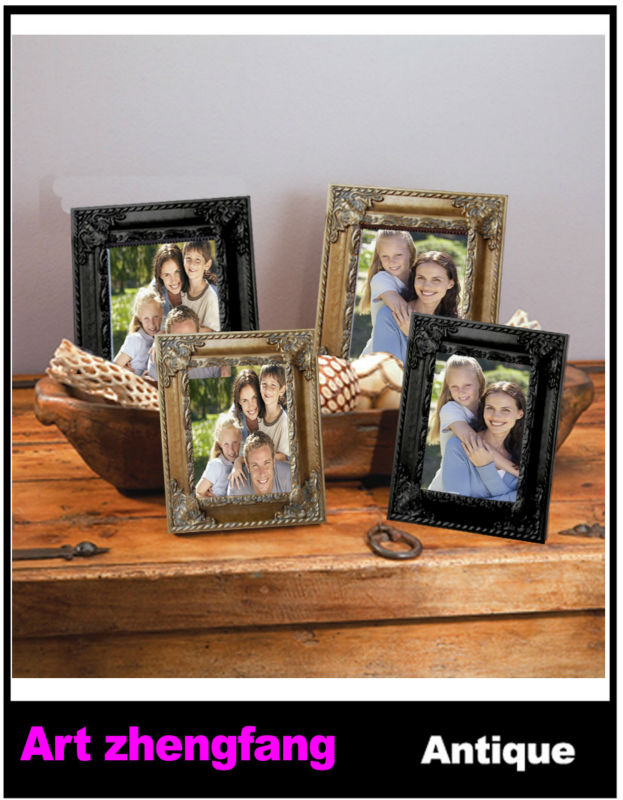 Wood framed decorate walls with family photo