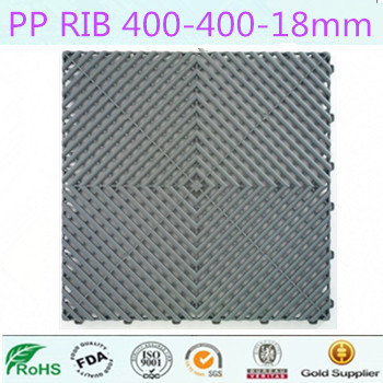 plastic interlocking flooring mat
