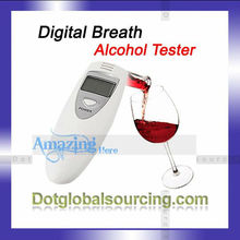 Hot Sale! Digital Breath Alcohol Tester Portable Digital Breathalyser